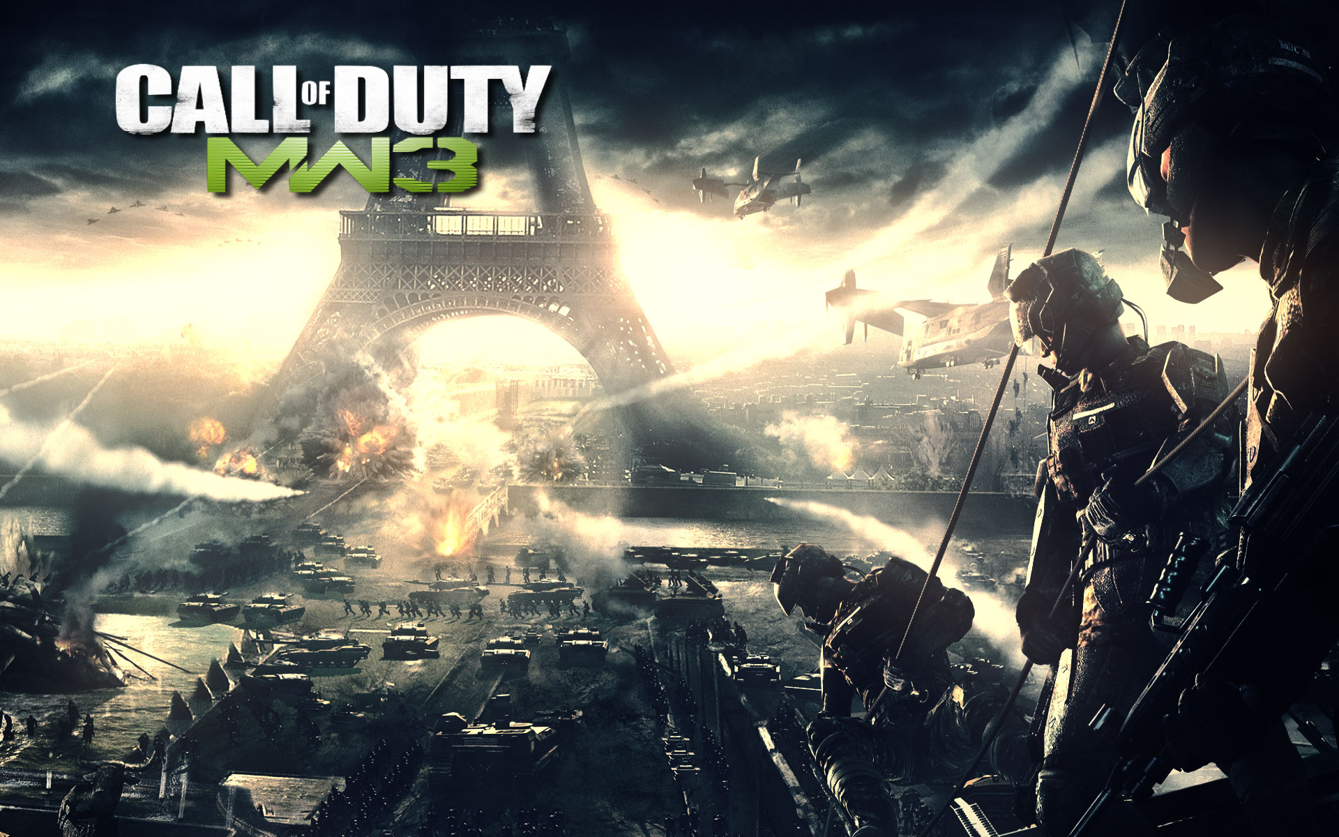 call of duty modern warfare 3 картинки