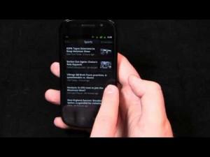 Видео обзор Android 2.3 Gingerbread (Англ.)