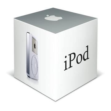 Коробка оригинального iPod