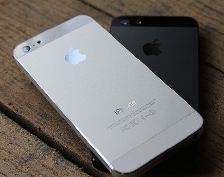 iPhone 5 и интерьере