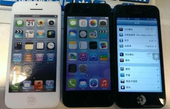 iPhone 5C, iPhone 5S и iPhone 5