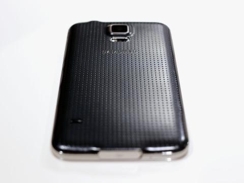 Samsung Galaxy S5. Тыльная сторона.